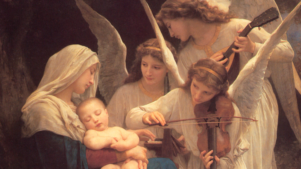 Cristo com todos os seus anjos