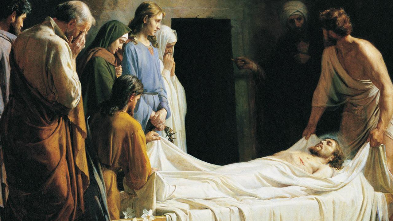 Jesus Cristo foi sepultado