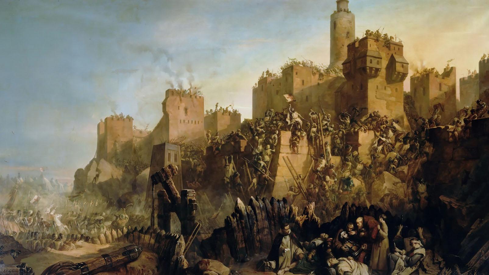 Os Templários e as Cruzadas
