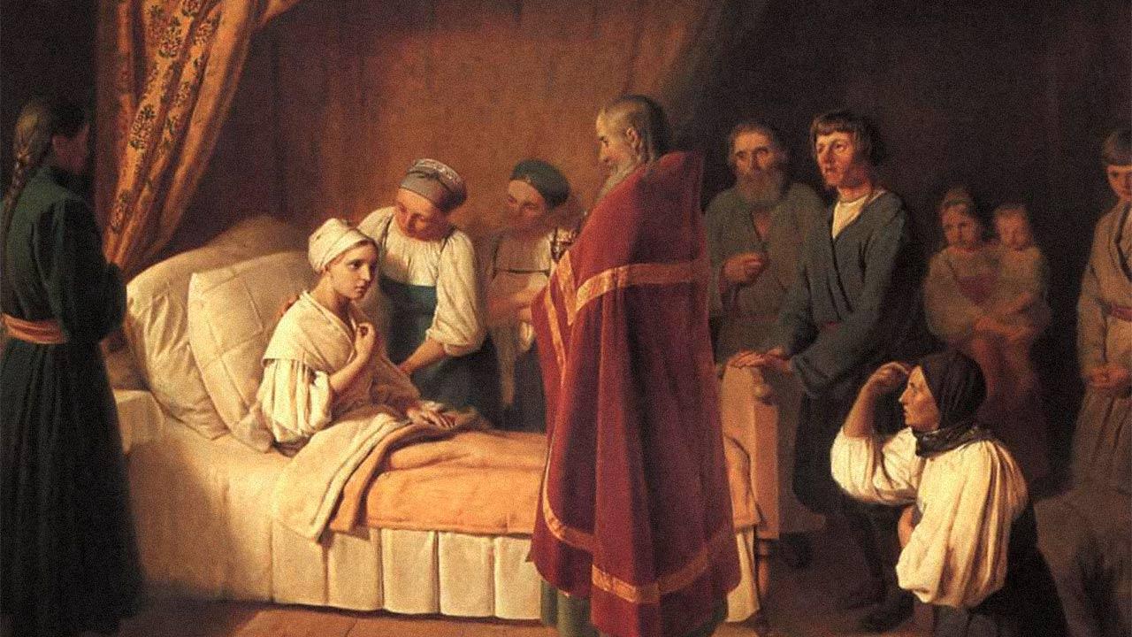 As condições para receber o sacramento da Unção dos Enfermos