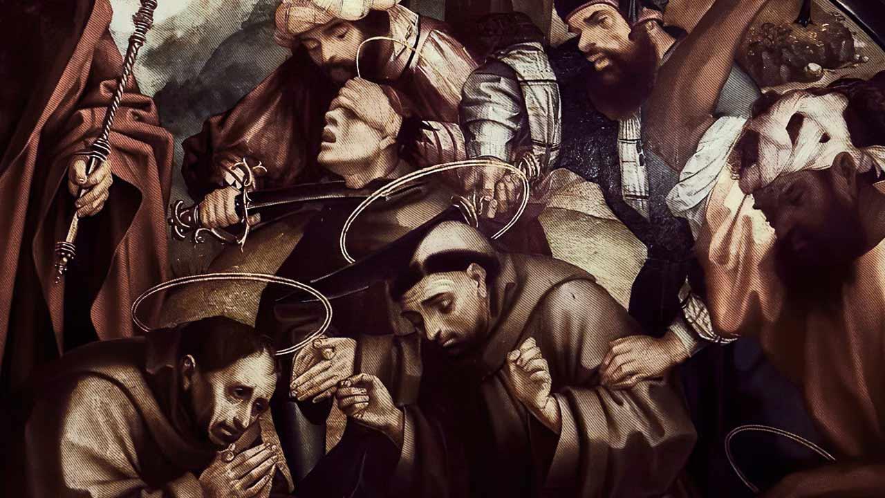 Os mártires de São Francisco de Assis