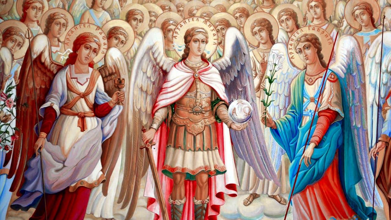 As três hierarquias angélicas