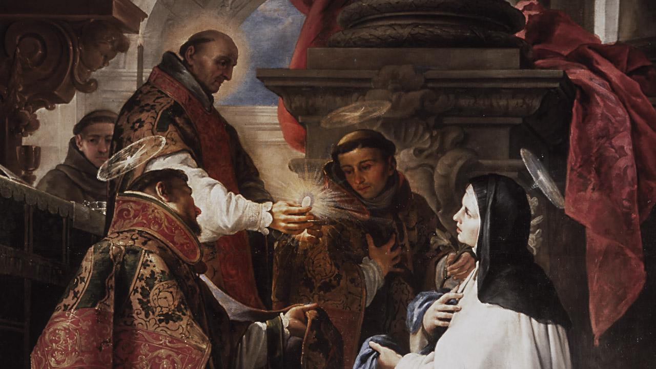 Eucaristia, matrimônio espiritual