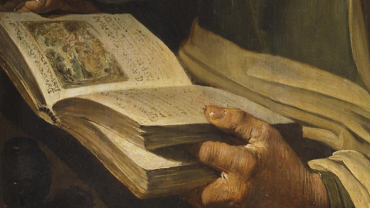 """O """"livro vivo"""" da humanidade de Cristo"""