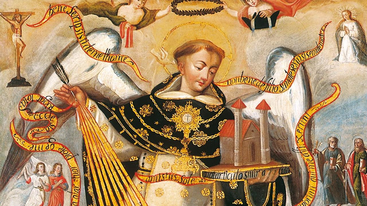 Santo Tomás de Aquino, uma alma de oração