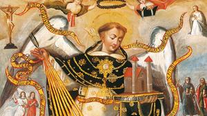 129. Santo Tomás de Aquino, uma alma de oração