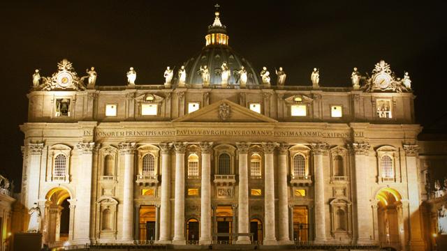 As riquezas do Vaticano