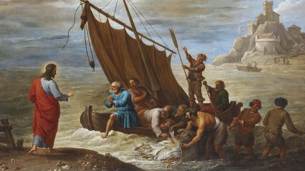A segunda pesca milagrosa