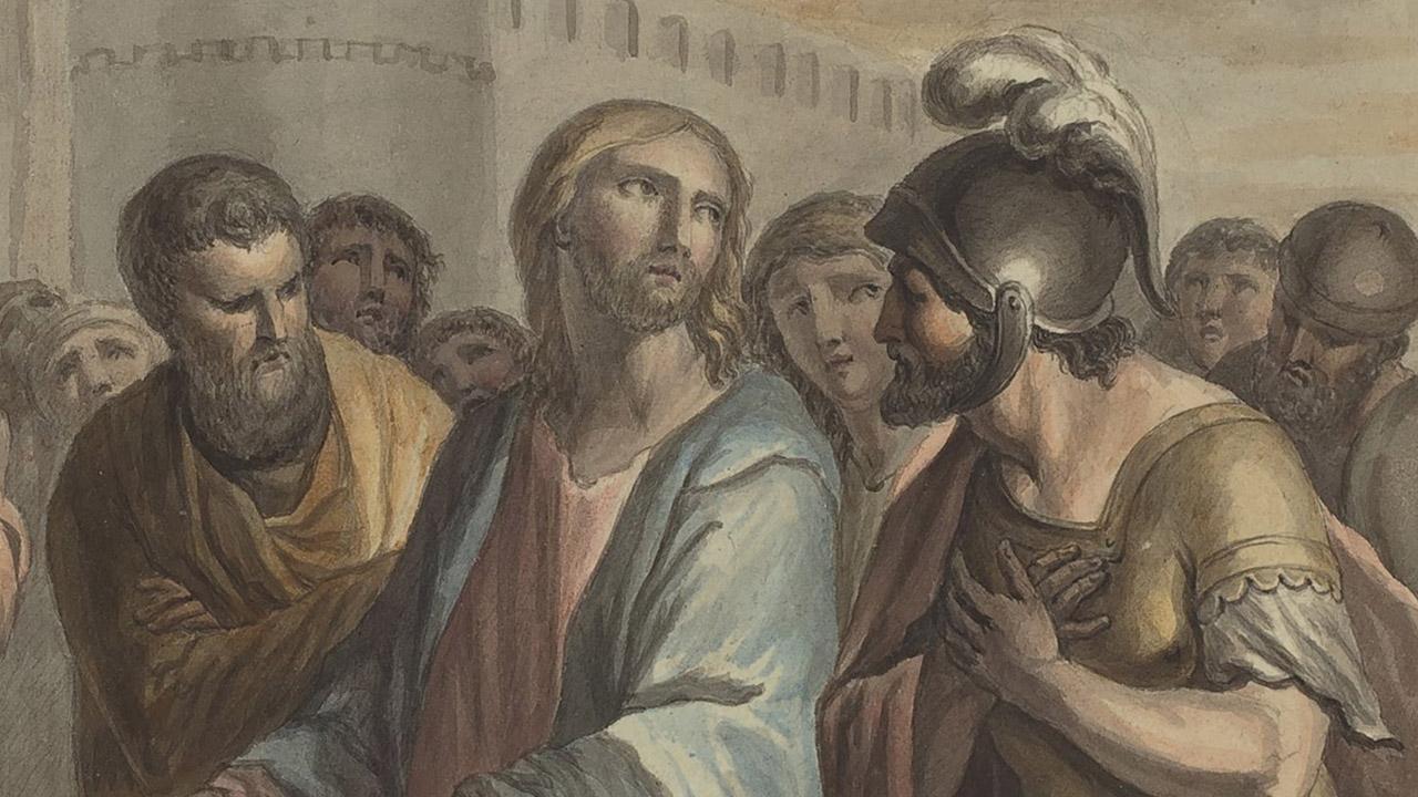 O centurião que acreditava em Jesus de Nazaré