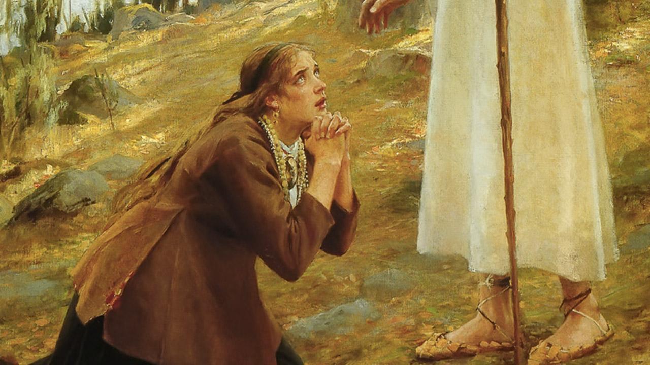 Deus fala com aqueles que o amam