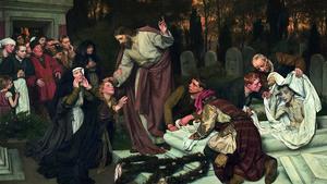 143. Os três mortos que Jesus ressuscitou