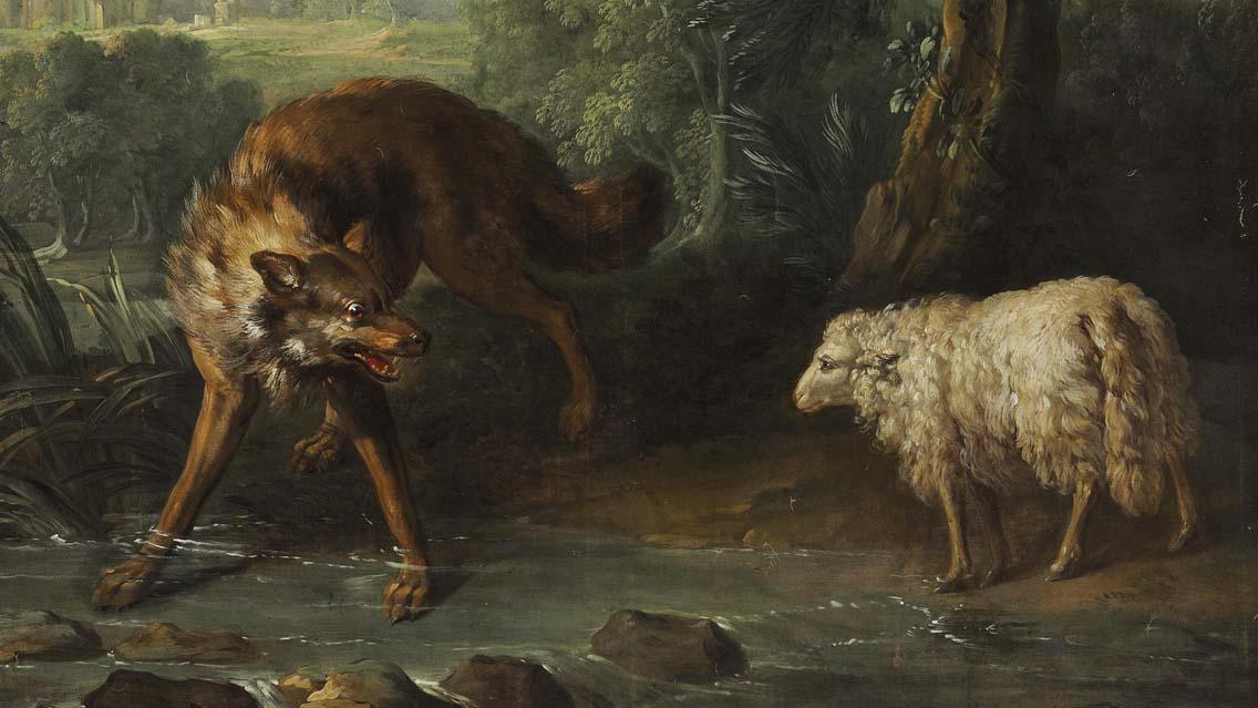 Como ovelhas no meio de lobos