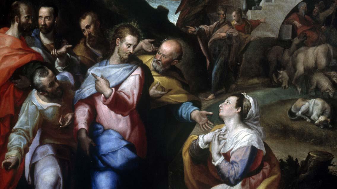Jesus e a mulher cananeia