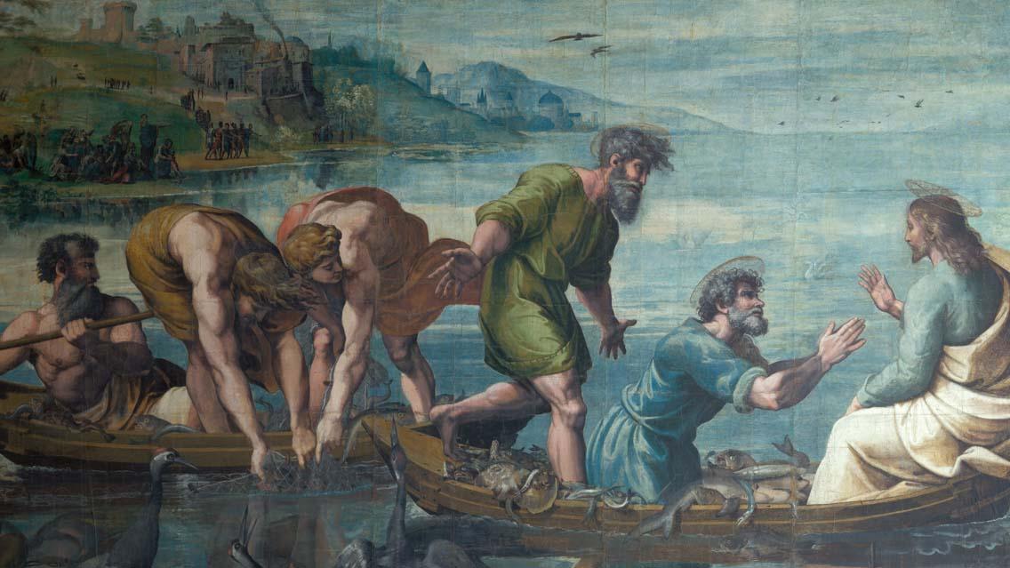 """""""Tu serás pescador de homens"""""""