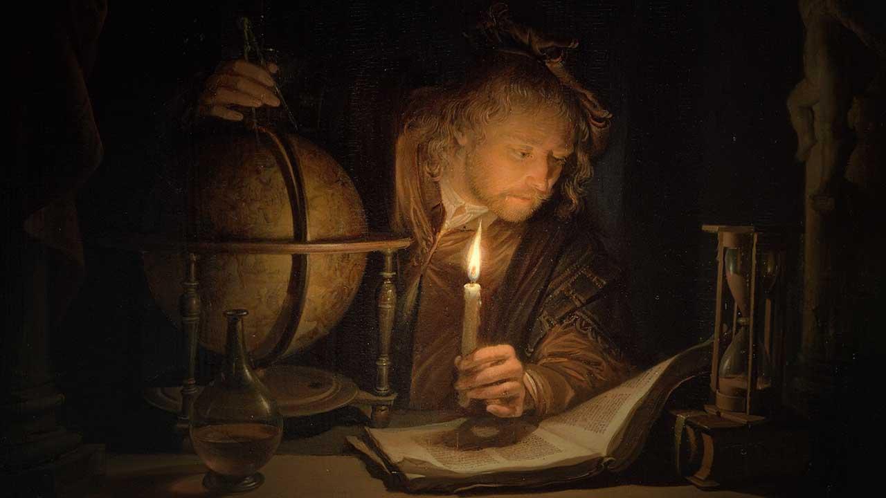 Como lâmpadas num candelabro