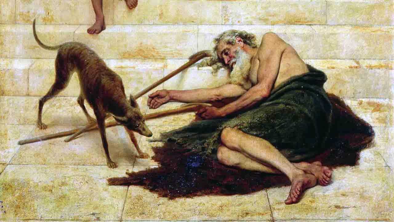 O pobre Lázaro e o rico banqueteador