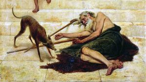 159. O pobre Lázaro e o rico banqueteador
