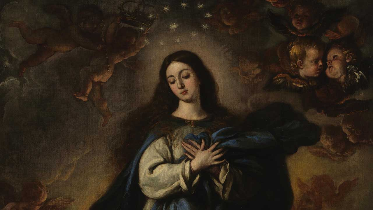 A bem-aventurança da Virgem Maria