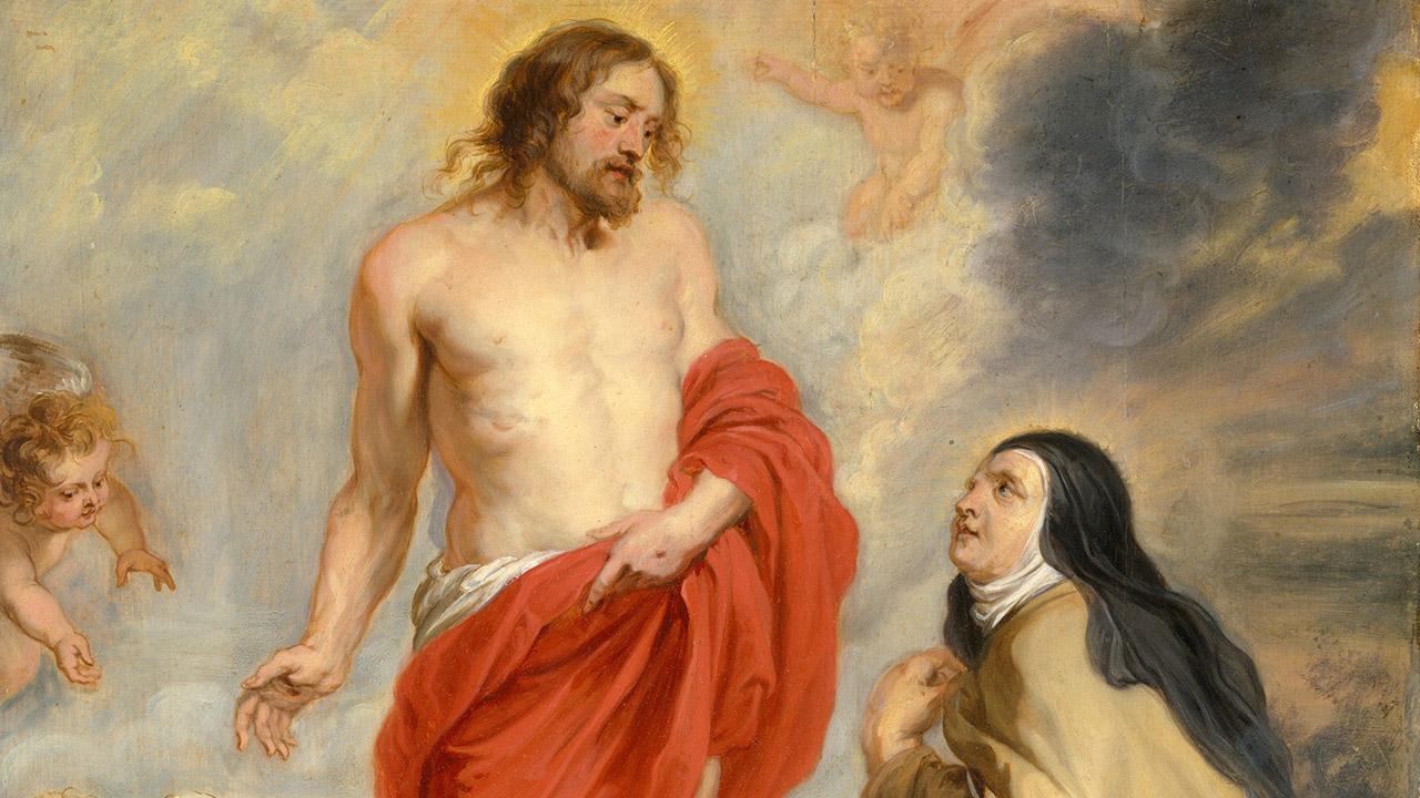 A conversão de Santa Teresa d'Ávila