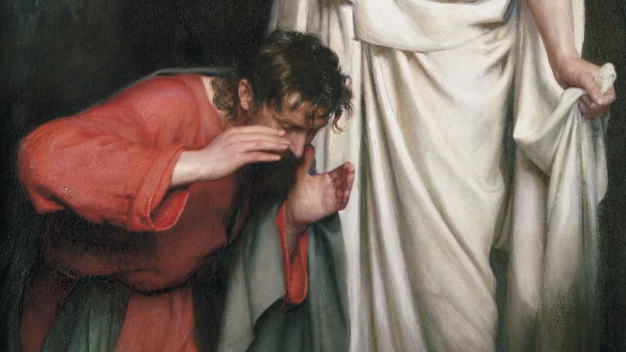 O desespero de quem não tem fé