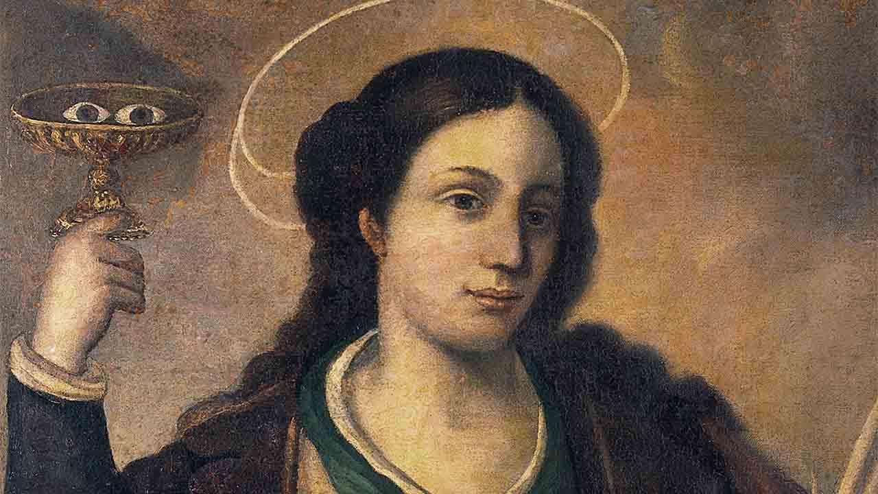 Memória de Santa Luzia, Virgem e Mártir