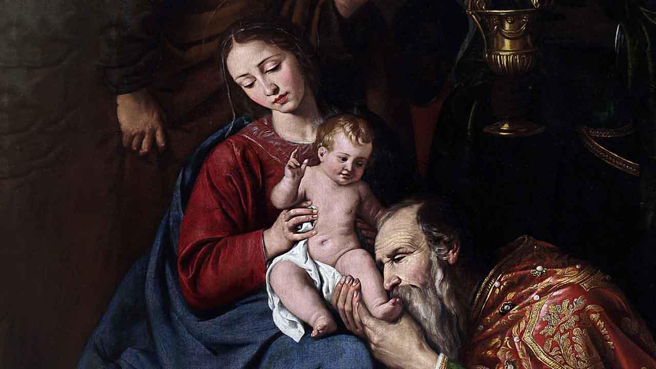 Nos braços de Maria e na santa Igreja Católica