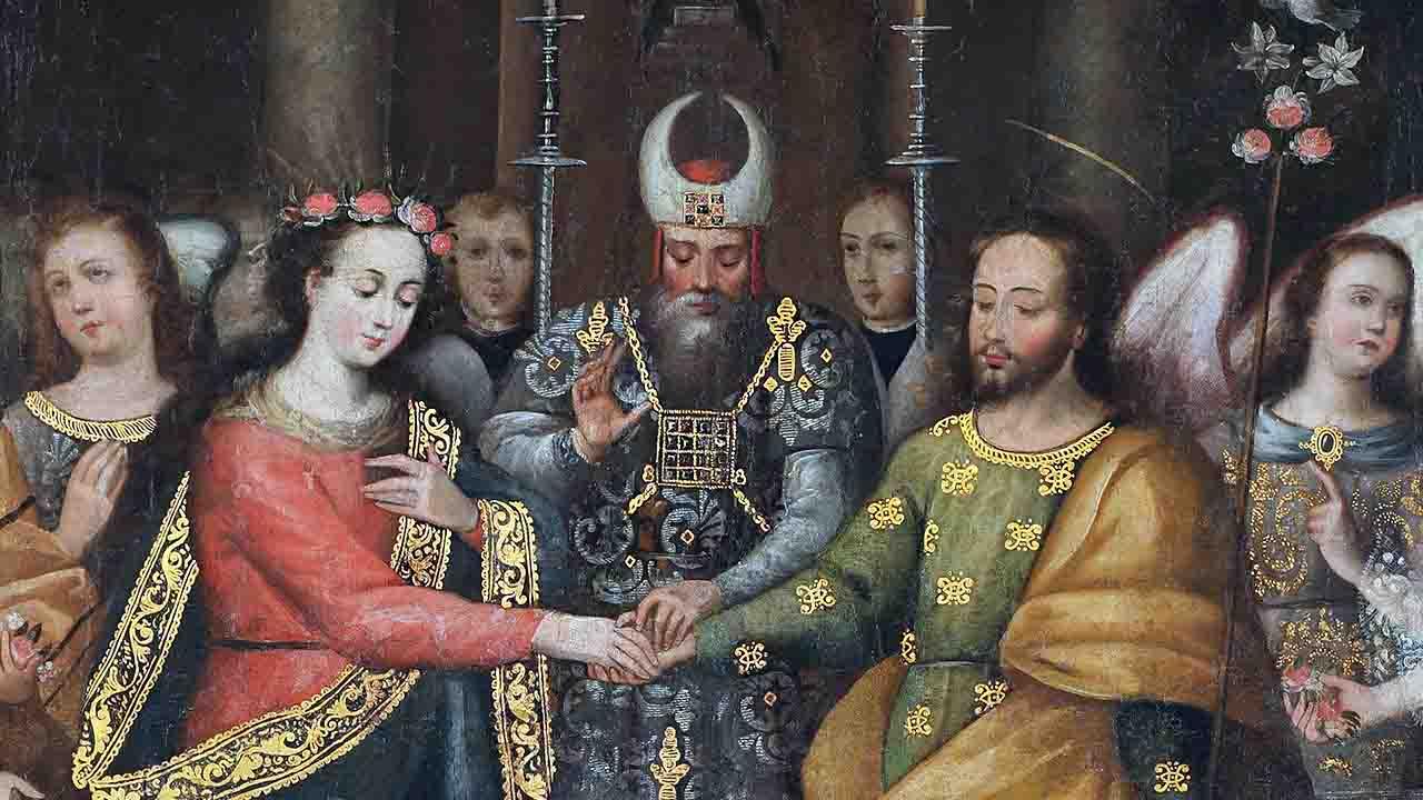 Os esponsais de Maria e José