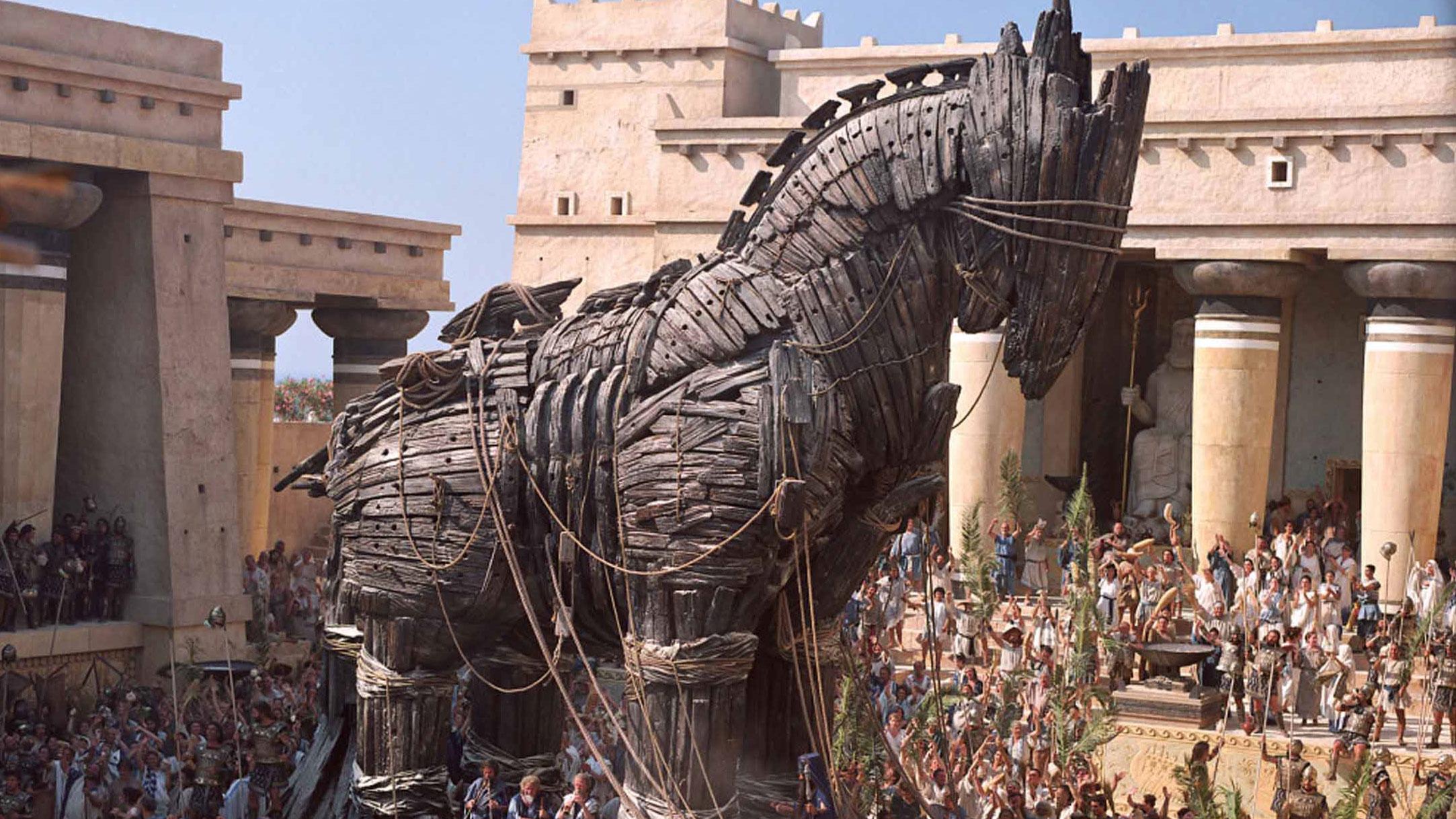 Um novo Cavalo de Troia