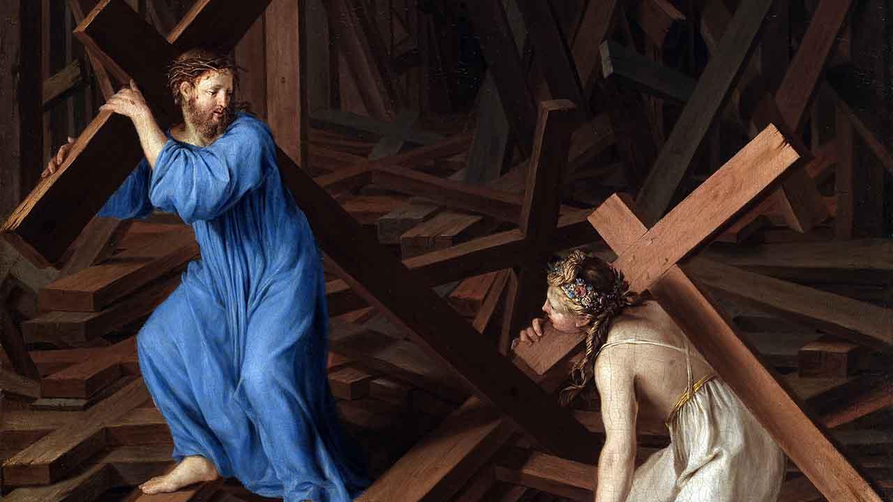Alma cristã, aceita a tua cruz!