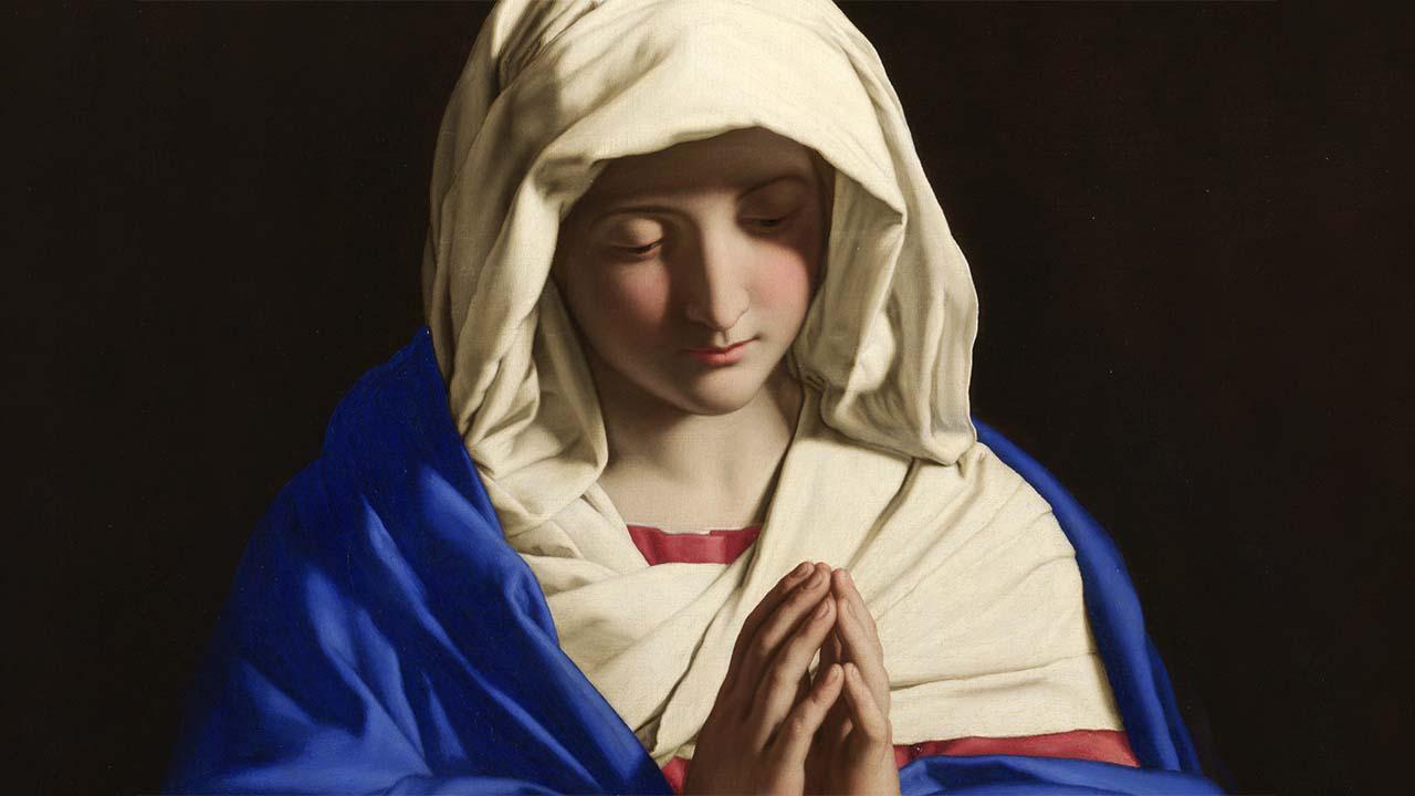 A Igreja reduzida a Maria