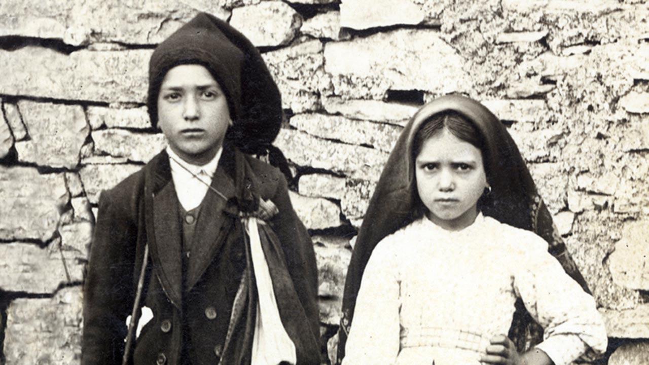 As santas crianças de Nossa Senhora de Fátima