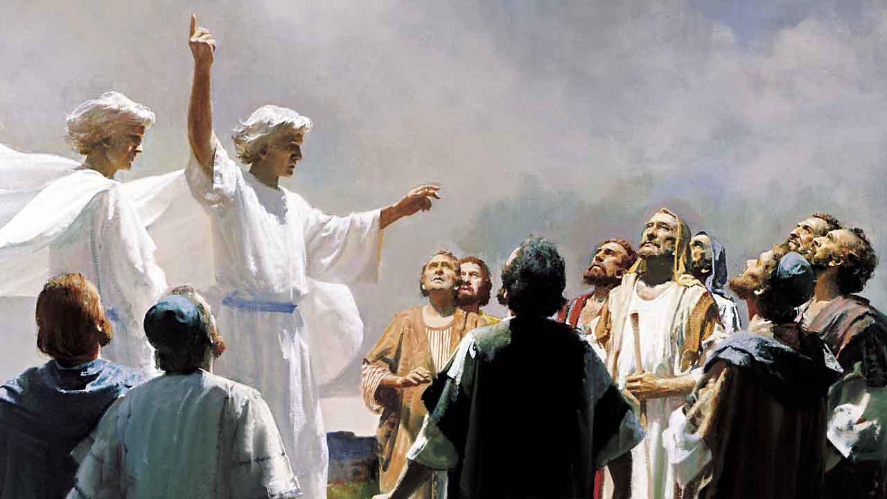 Por que Jesus devia partir?