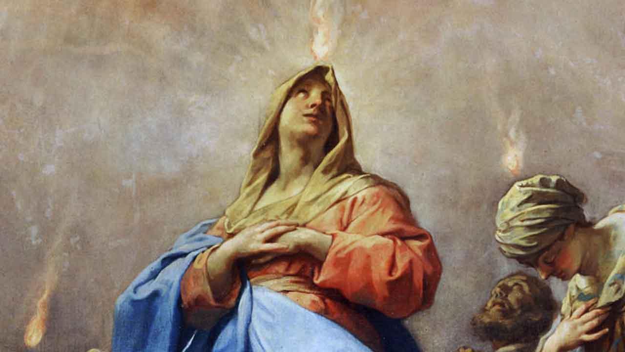 A mediação da Rainha dos Anjos