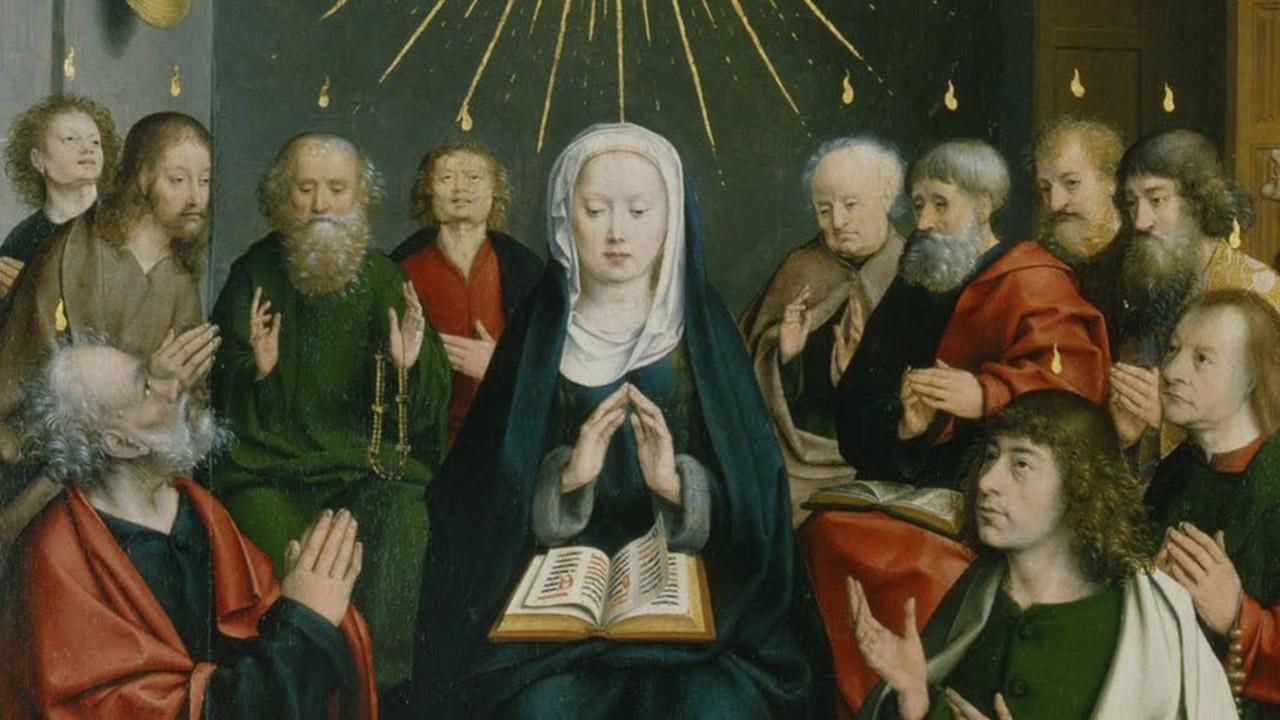 A Virgem Maria depois de Pentecostes