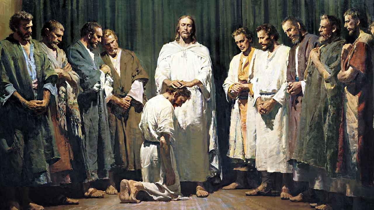 O sacerdócio dos Apóstolos
