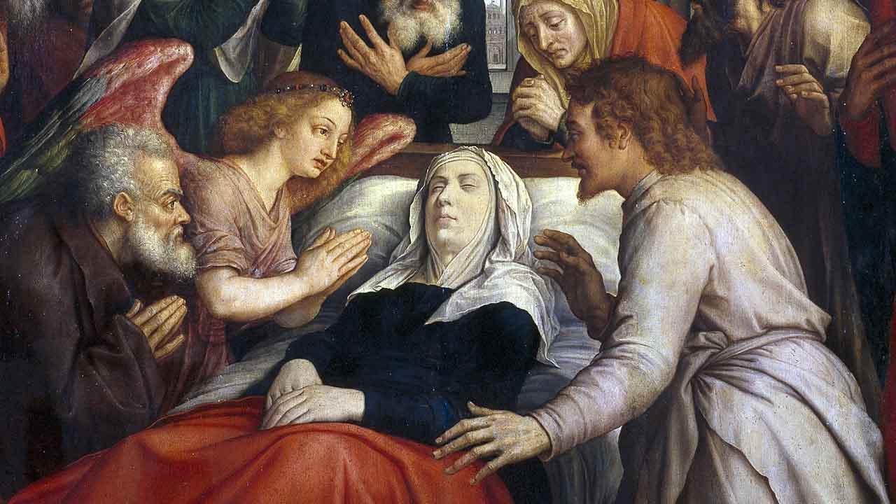 A morte da Virgem Maria