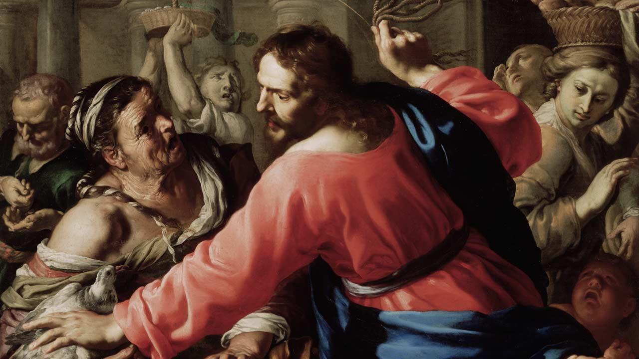 A santa ira de Cristo