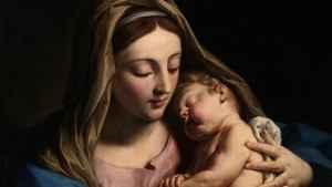 724. O amor de Maria ao Menino Jesus