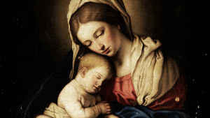 736. A Epifania nos braços de Maria