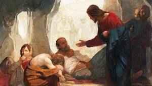 740. É pela fé que se vai a Jesus