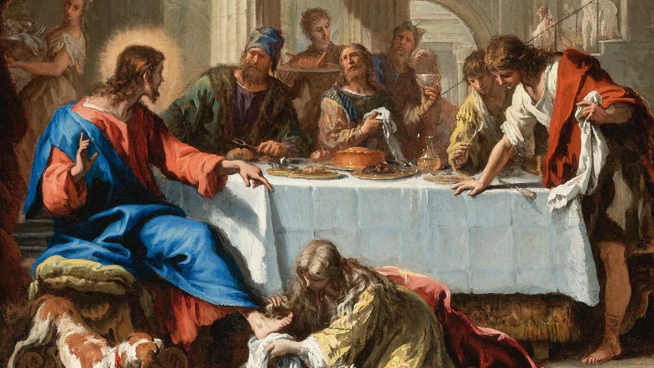 À mesa dos pecadores