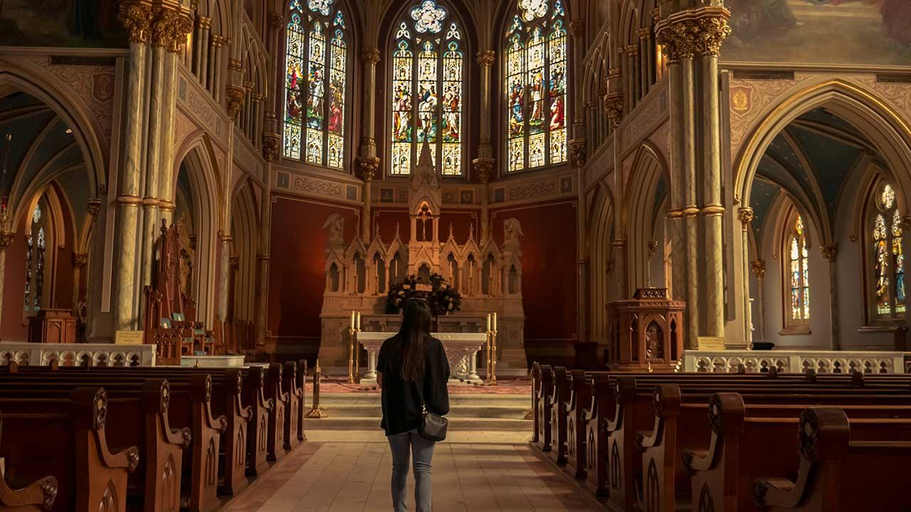 O que você está procurando na Igreja?