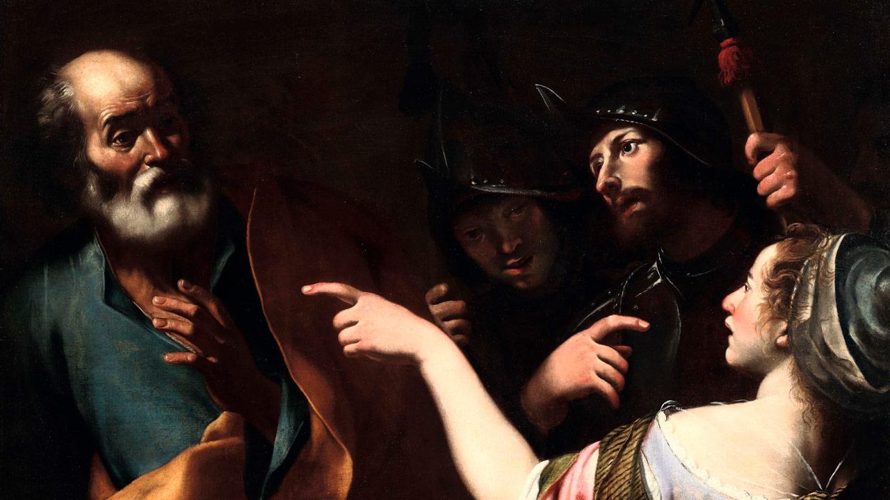 A traição de Judas e a negação de Pedro