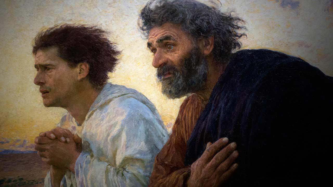 Correndo para alcançar Jesus Ressuscitado