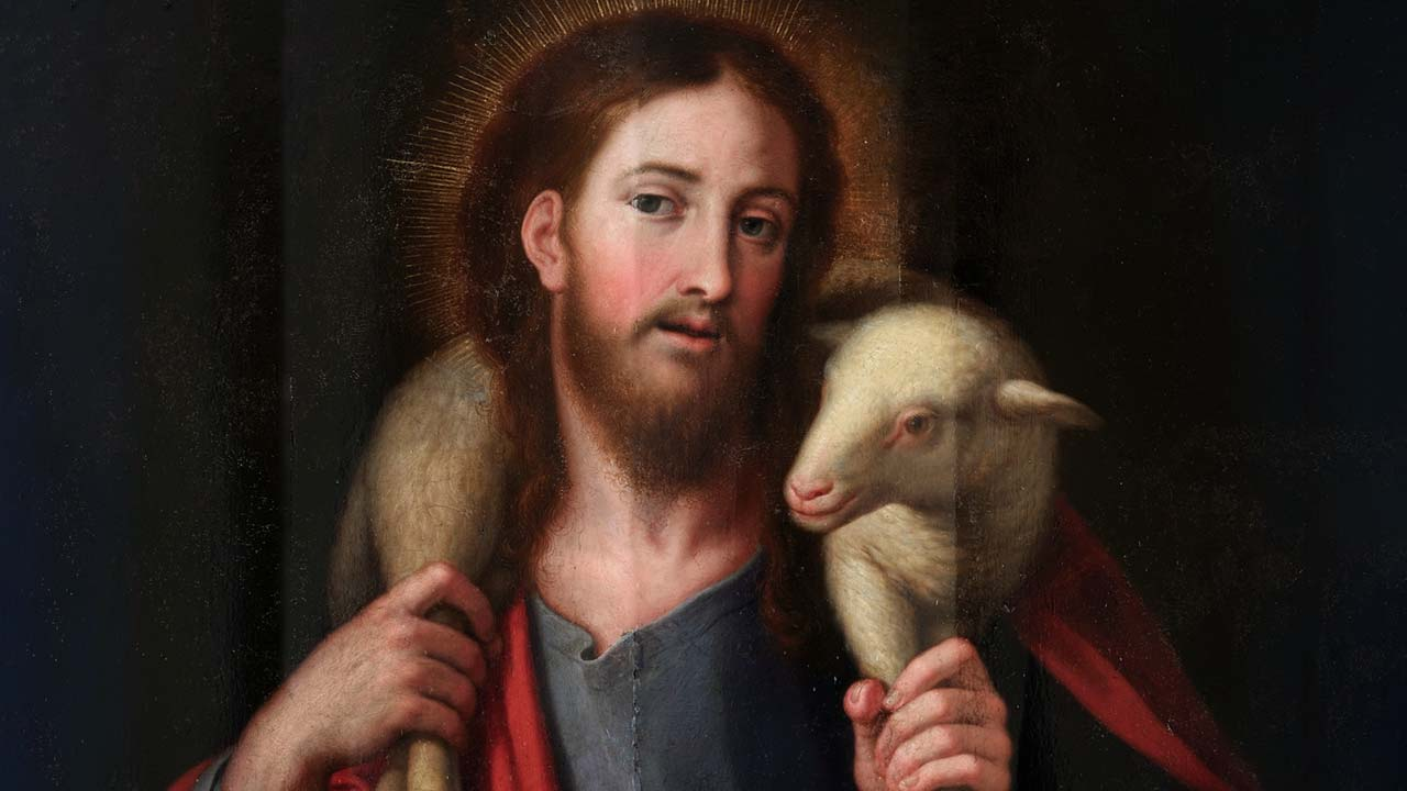 O Bom Pastor é o Cordeiro Imolado