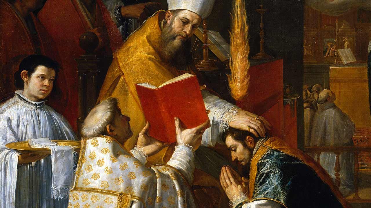 O sacerdote é presença de Cristo