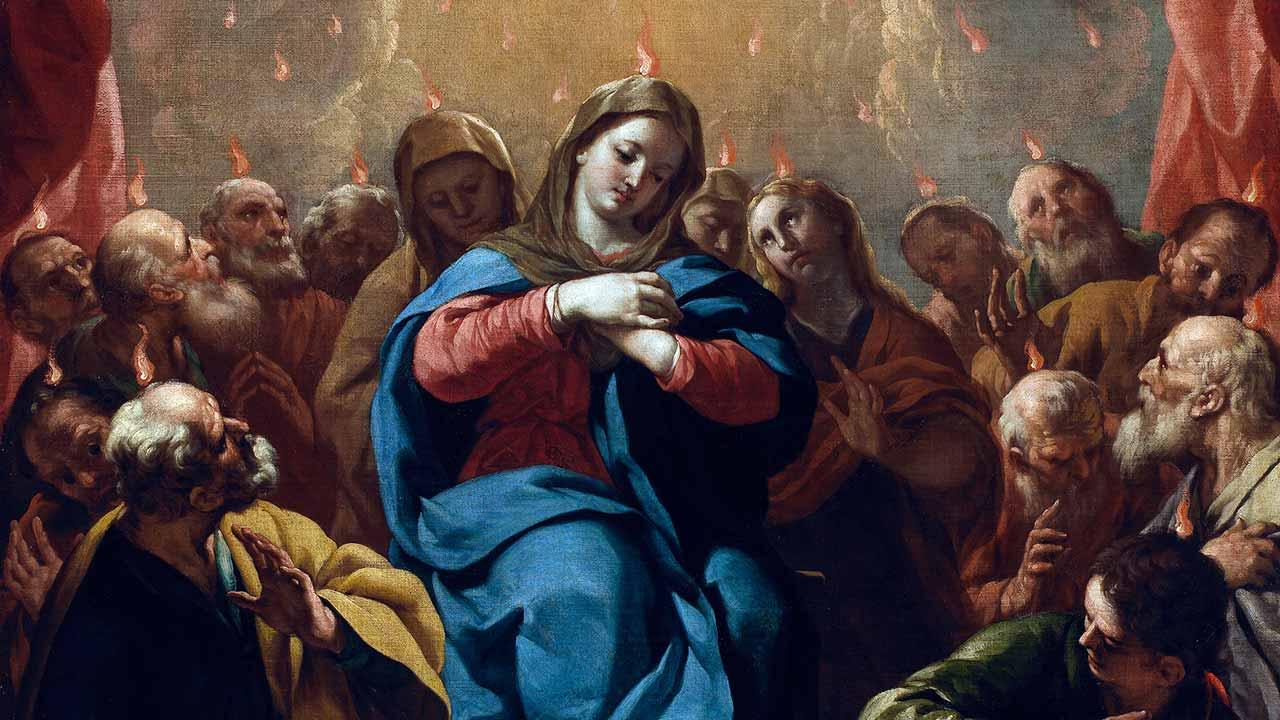 Os três Pentecostes de Maria