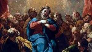 850. Os três Pentecostes de Maria