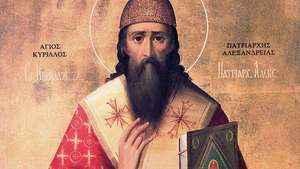 883. Memória de São Cirilo de Alexandria, Bispo e Doutor da Igreja