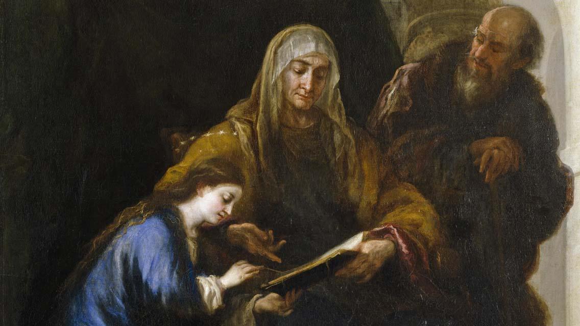 Memória de São Joaquim e Sant'Ana, pais da Virgem Maria